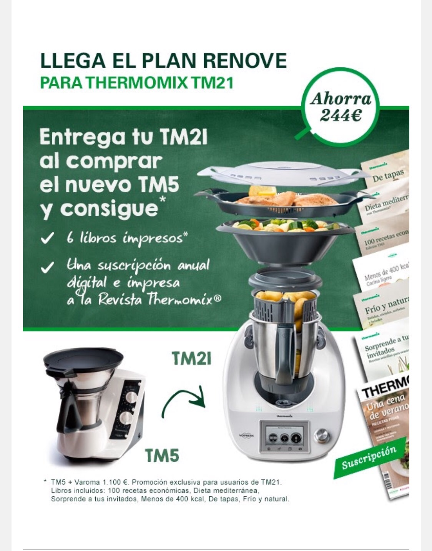 Llega el plan renové para el Thermomix® TM21