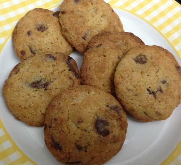Cookies con chips de chocolate hechas con Thermomix®