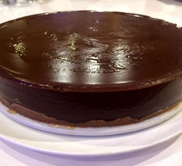 TARTA DE CUAJADA DE CHOCOLATE CON Thermomix®