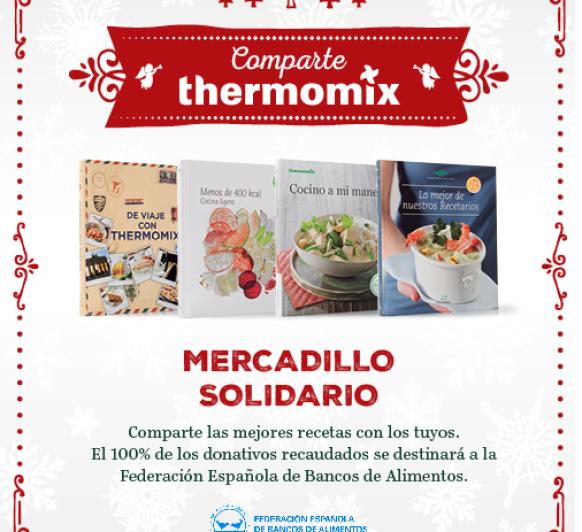Mercadillo solidario Comparte Thermomix®