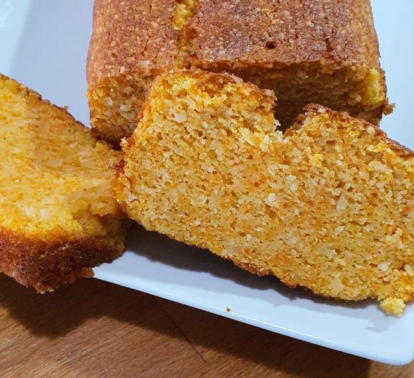 Bizcocho de zanahoria y almendra con Thermomix®