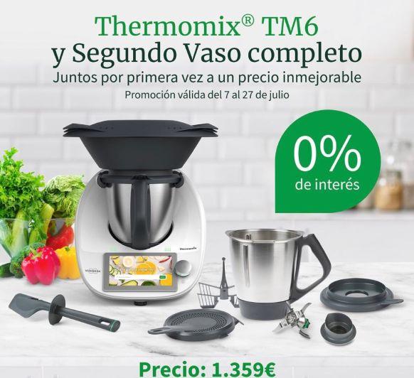 Thermomix® TM6 y Segundo Vaso completo