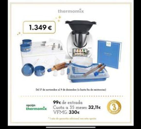 EDICION DULCE NAVIDAD CON Thermomix®