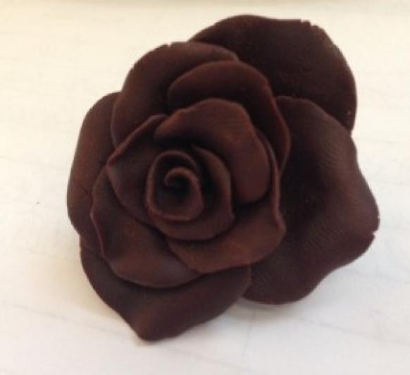 Chocolate plástico negro hecho con Thermomix®