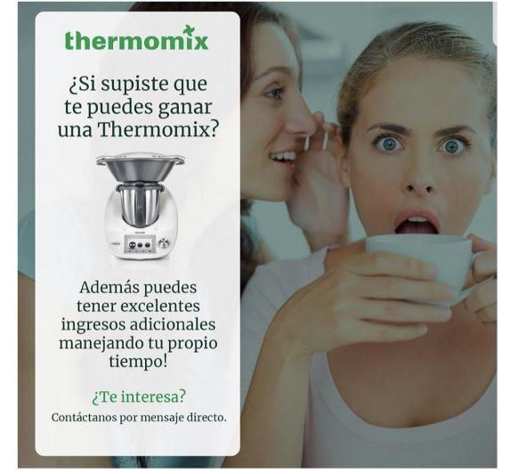 ¿CUÁL ES LA MEJOR FORMA DE CONSEGUIR UN Thermomix® ? SIN PAGAR!