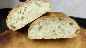 Pan de Chapata hecho con Thermomix®