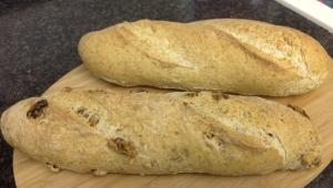 Delicioso pan.. con un toque de centeno y nueces hecho con Thermomix®